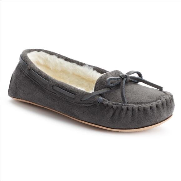 Shoes | Kohls Moccasin Slippers | Poshmark